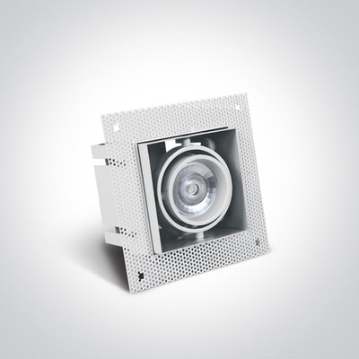 Trimless spot - GU10 - Enkel - Wit