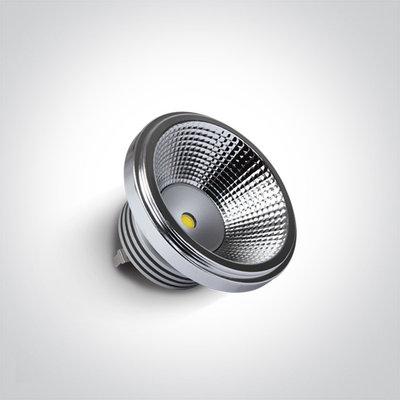 10W 12v 45deg LED R111 WW G53