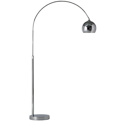 Frandsen Lounge Mini Vloerlamp Chrome