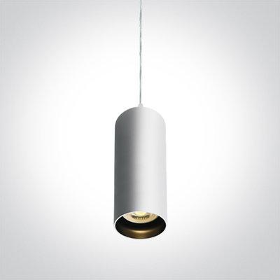 Hanglamp opbouw rond - GU10 - Wit