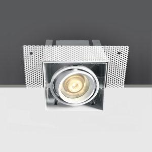 WHITE MR16 GU10 TRIMLESS BOX