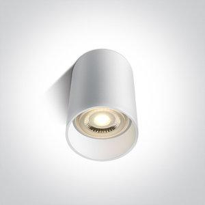 Plafond spot opbouw rond - GU10 - Wit